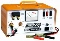 Hawkins portable bench top 12/24 volt 60 amp Battery Charger with built in jump starting